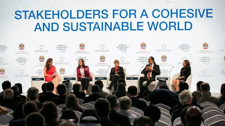 world economic forum, davos, switzerland, 2020, climate change, sustainability, stakeholders
